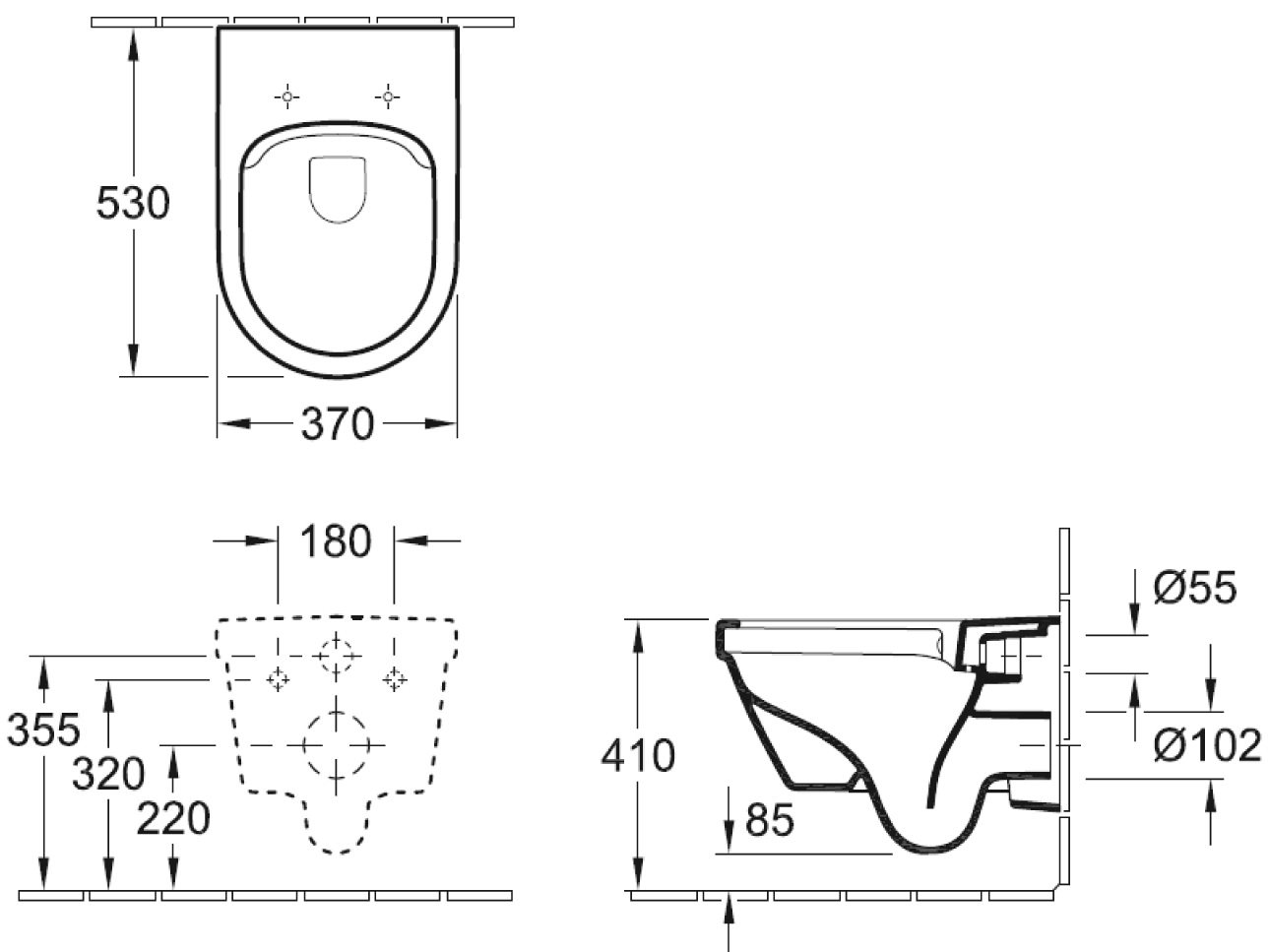 Favorit Spülrandlose Toilette Architectura, Villeroy & Boch | Calmwaters VP73