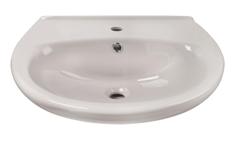 Waschbecken in Manhattan-Grau, 55 cm